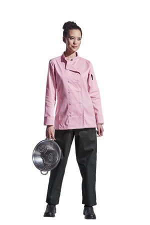 LADIES LONG SLEEVE SAVONA CHEF JACKET