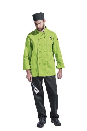 MENS LONG SLEEVE CHEF JACKET