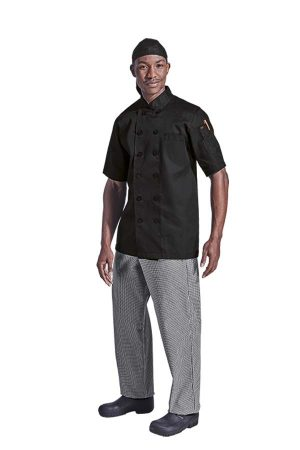 MENS SAVONA SHORT SLEEVE CHEF JACKET